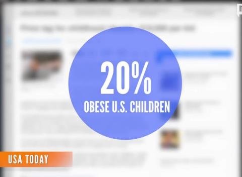 News video: Child Obesity Costs $20K Over Lifetime